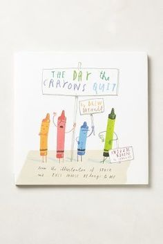 Anthropologie The Day The Crayons Quit #anthrofave #anthropologie