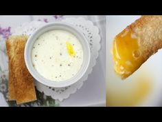 Oeuf Cocotte a l'Emmental - Emmental Cheese Egg in Ramekin Recipe Cheese Recipes, Gourmet Recipes, Healthy Recipes, Lorraine, Emmental Cheese, Egg Tart, Tea Eggs, Baked Eggs, French Food
