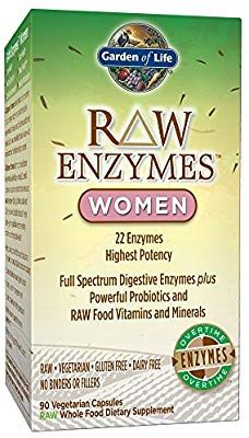 Amazon Com Garden Of Life Vegetarian Digestive Supplement For Women Raw Enzymes Wome With Images Digestive Supplements Digestive Enzymes Supplements Enzymes Supplements