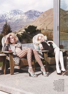 I love this editorial for Australian Vogue
