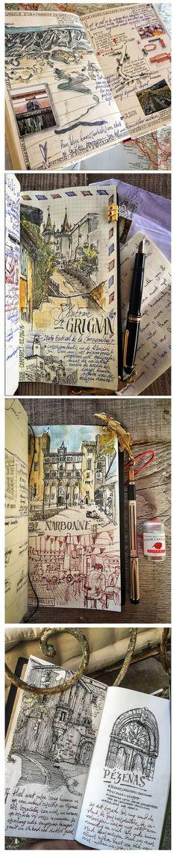 Ivan Seymus #sketchbook http://www.ivanseymus.com/ https://www.flickr.com/photos/dessinauteur/