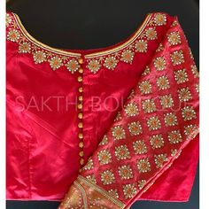 Source by navyasreem Blouses Cutwork Blouse Designs, Best Blouse Designs, Simple Blouse Designs, Hand Work Blouse Design, Stylish Blouse Design, Bridal Blouse Designs, Blouse Neck Designs, Kurta Designs, Saris