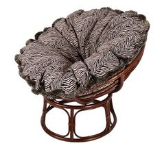 best papasan chairs features luxurious cushion finishes, bold & modern  pattern teamed with pecan brown