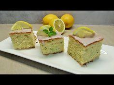 Cytrynowe ciasto z cukinia - YouTube Kenwood Cooking, Cheesecake, Chef, Youtube, Food, Sheet Cakes, Bakken, Dessert Ideas, Food Food