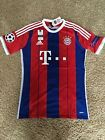 For Sale - Bayern Munich Thomas Muller Germany 2014/15 Home Jersey Short Sleeve Red Blue 25 - See More at http://sprtz.us/BayernEBay