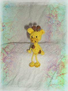 #Crochet giraffe by Amigurumi Haaksels
