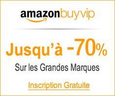Amazon BuyVIP : le site de ventes privées de grandes marques jusqu'à -70% qui livre en France