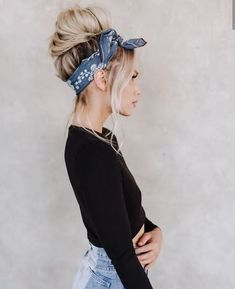 Scarf hairstyles, bandana hairstyles for long hair, outfits for short hair, Scarf Hairstyles, Summer Hairstyles, Pretty Hairstyles, Easy Hairstyles, Halloween Hairstyles, Hairstyle Ideas, Hairstyle Short, Black Hairstyle, Bandana Hairstyles For Long Hair