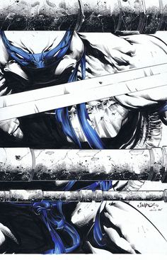 Leo Inks With a bit of color by TonyKordos.deviantart.com on @deviantART