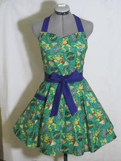 Sexy Teenage Mutant Ninja Turtles Apron by AquamarCouture on Etsy