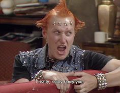 Vyvyan - the young ones comedy show British Humor, British Comedy, Comedy Actors, Tv Actors, Welsh, Ben Elton, Rik Mayall, Old Shows, First Tv