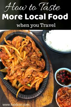 How to Taste More Local Food when you Travel - Food Corner Hotel Buffet, Breakfast Buffet, Different Recipes, Cooking Classes, International Recipes, Street Food, New Recipes, A Food, Traveling By Yourself