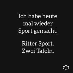 Sprüche & Zitate Ritter Sport Schokolade, Springlane