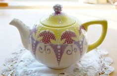 Custom order Teapot of your choosing by Dprintsclayful on Etsy, $85.00