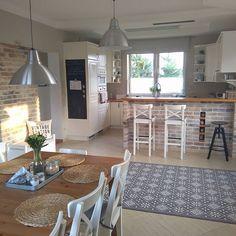 Home Design Living Room, Home Kitchens, Kitchen Design Small, Kitchen Design, Kitchen Decor, Kitchen Plans, Kitchen Interior, Beautiful Kitchens, House Interior