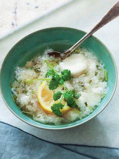 Recipe : 長芋、レモン、香菜のベトナム風スープ/ヌクマムの風味がエキゾティック