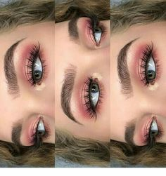 Eye Makeup Tips.Smokey Eye Makeup Tips - For a Catchy and Impressive Look Makeup Goals, Makeup Inspo, Makeup Inspiration, Makeup Ideas, Fashion Inspiration, Makeup Guide, Fashion Trends, Pink Makeup, Makeup Art