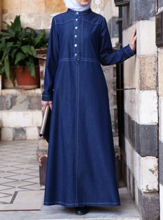 SHUKR USA | Lightweight Denim Dress