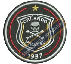 Orland pirates logo embroidery designs