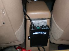 This looks like a pretty good place to mount a CB. Jeep Jk, Jeep Wrangler Tj, 2001 Jeep Cherokee, Jeep Cherokee Sport, Jeep Wrangler Accessories, Jeep Accessories, Radios, Best Cb, Truck Accesories