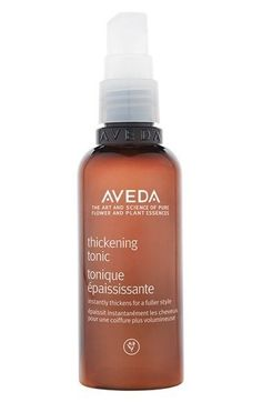 Aveda Thickening Tonic, a natural option that thickens hair instantly. | 29 Products For Thin Hair That People Actually Swear By