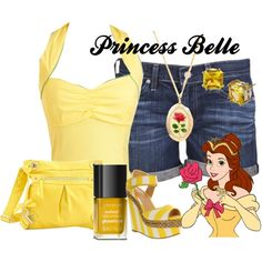 """Princess Belle"" by amarie104 on Polyvore"