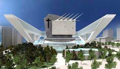 Santiago Calatrava diseña una lápida gigantesca, blanca y con pinchos para Rita Barberá
