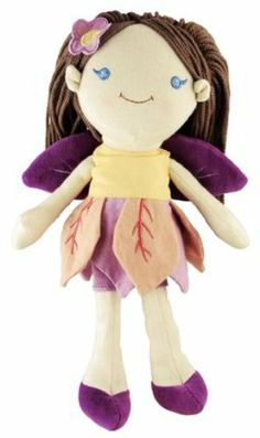 miYim Good Earth Brunette Fairy Rag Doll by miYim. $25.99. 12 inch fairy Rag Doll. Comes perfectly packaged in a reusable; recycled cardboard gift box. Made with natural cotton and recycled fiber filling. Earth Friendly 12 inch fairy Rag Doll. From the Manufacturer                My Natural Good Earth Fairy is sure to land at the top of every girls wish list.  This natural cotton rag doll is brought to you by the trusted makers of miYim organic cotton toys, and ...