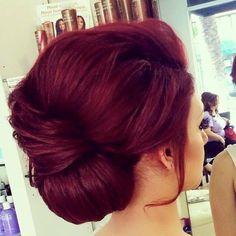 Red Burgundy Hair Color - New Hair Red Burgundy Hair Color, Dark Red Hair, Hair Color And Cut, Color Red, Magenta Hair, Violet Hair, Deep Red Hair Color, Cherry Red Hair, Plum Hair
