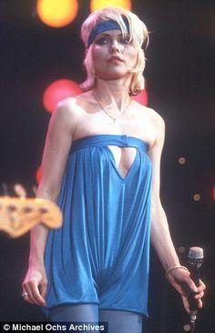 'Sensual': Sex symbol Debbie Harry in 1970