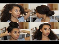 Crochet Braids Zetten : Easy Hairstyles For Long Curly Hair [Video] - Black Hair Information ...