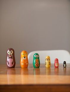 Studio Matryoshka Character Dolls - Animals