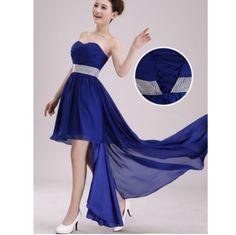 Crystal Sleeveless Chiffon Prom Dress Strapless Dress Formal, Prom Dresses, Formal Dresses, Prom Date, Chiffon, Crystal, Collection, Fashion, Dresses For Formal