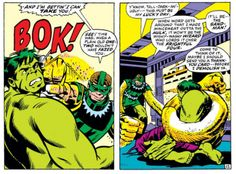 Hulk #138 by Trimpe & Thomas