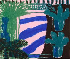 Bleu et vert. / By William Crozier. Illustrations, Illustration Art, Paintings I Love, Illustrator Tutorials, Painting & Drawing, Design Art, Contemporary Art, Abstract Art, Fine Art