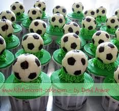 Soccer Ball Cupcake Toppers cakes birthday