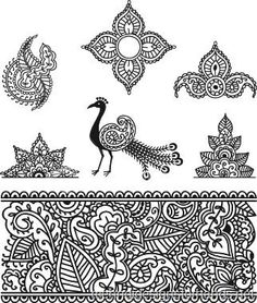 Simple Henna Designs–How to make fast and easy henna tattoo designs? - Tattoos - Zimbio
