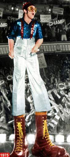 Elton John as the Pinball Wizard, Tommy