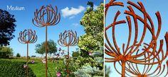 WIld Clematis Garden Sculptures | Plant Support | Garden Art
