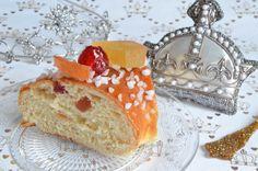 Recette de brioche des Rois aux fruits confits délicieuse et bien moelleuse, comme j'en mangeais à Nice. Et cette brioche est ultra simple à réaliser !