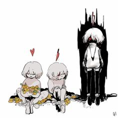 Frist / Undertale AWESOME ART - shared from fofufofu