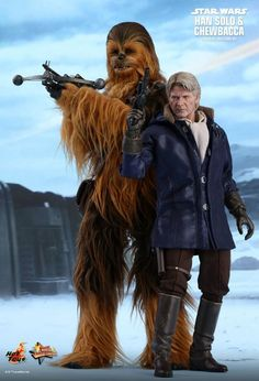 Star Wars The Force Awakens - Han Solo & Chewbacca Pack