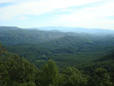 The Smoky Mountains are a vast and beautiful sight. #vacation
