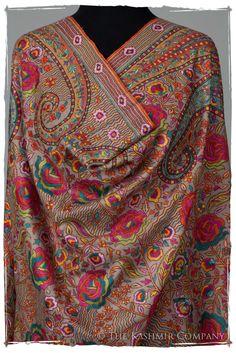The Socialite Pashmina Shawl — Seasons by The Kashmir Company