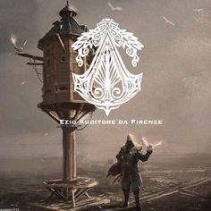 Assassins Creed Fan Art Ezio Auditore da Firenze