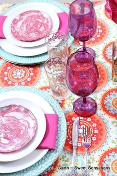 Tablescape with Moroccan Inspiration