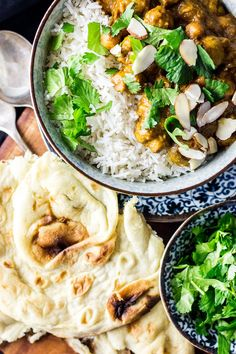 A rich and comforting vegan mushroom korma with chickpeas, made from scratch and every bit as good as your favourite Indian takeaway. Vegan Dinner Recipes, Vegan Dinners, Indian Food Recipes, Asian Recipes, Vegetarian Recipes, Cooking Recipes, Delicious Recipes, Vegan Curry, Desi Food