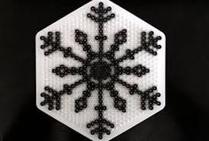 Image result for bead snowflake pattern
