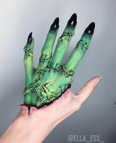 Partial hand Green Fx