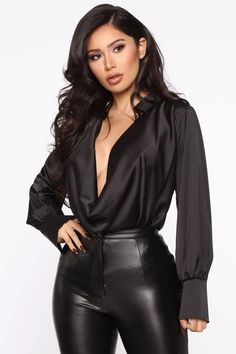 Touch By Touch Satin Top - Black – Fashion Nova Girls Night Out Dresses, Dress Night, High Neck Lace Top, Satin Top, Black Satin, Nova Dresses, Fashion Nova Models, One Shoulder Tops, Mannequins